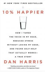 Cover of 10% Happier by Dan Harris